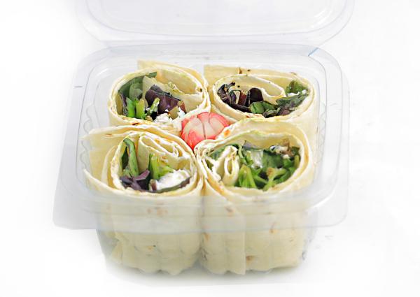 عکس پک نان و پنیر و سبزی